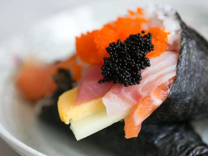 Hand-Rolled Sushi Creations