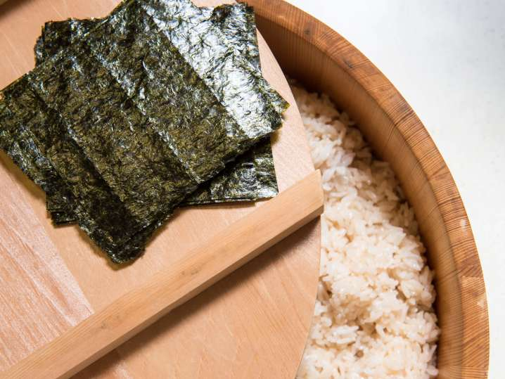 seaweed and sushi rice | Classpop