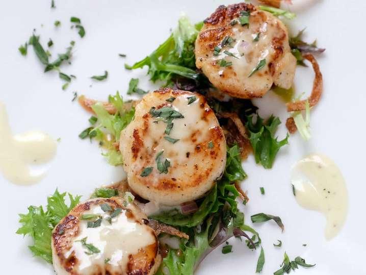 seared scallops   Classpop