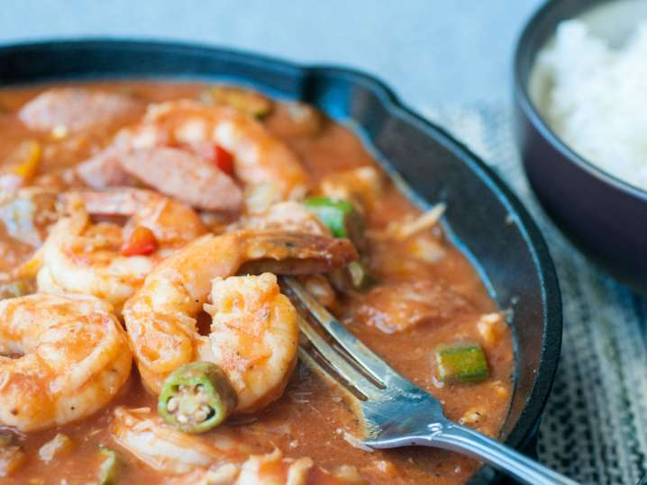Sausage and Shrimp Gumbo | Classpop