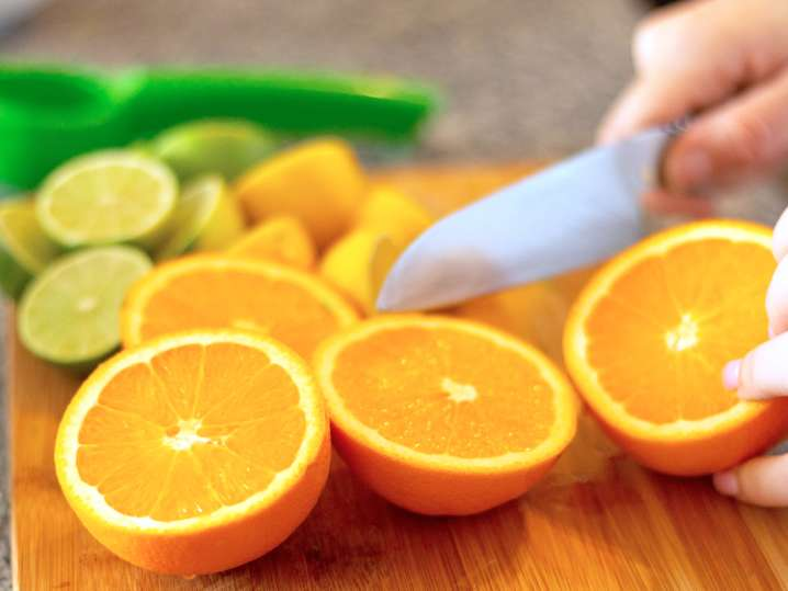 slicing oranges | Classpop