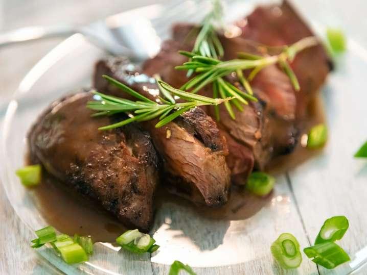 Steak Dinner Well-Done
