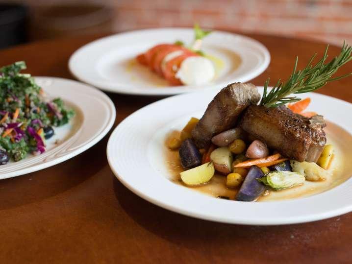 Lamb Chop Dinner Italian-Style