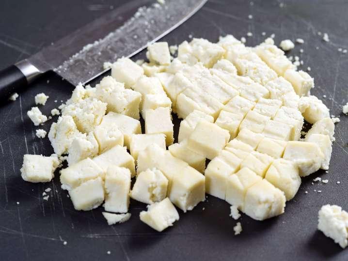 Indian Paneer Cheese Meal