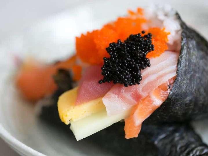 Sushi and Mochi