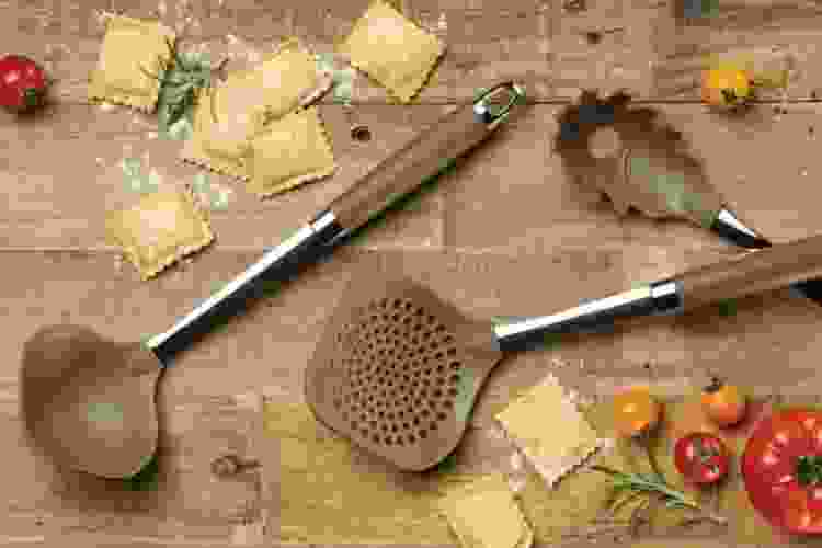 Anolon Advanced Bakeware 3-Piece Pasta Tool Set