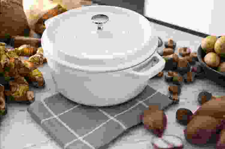 the Staub Cocotte Round 4Qt is a great gift for bakers