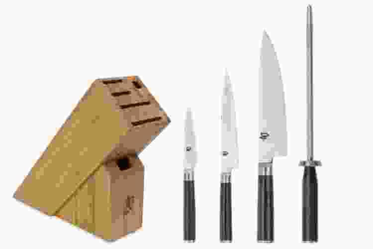 Shun Classic 5-Pc Knife Block Set