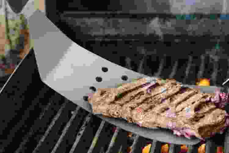 the Harold Import Co. Flippin Good Burger Turner is one of the best grilling gifts