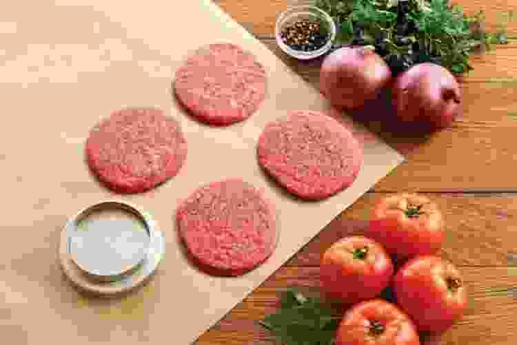 Harold Import Co. The World's Greatest Flippin Good Double Burger Press
