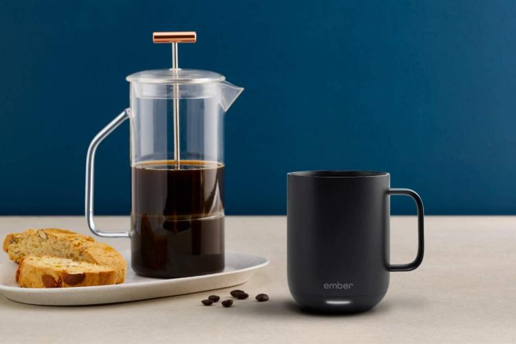 temperature controlled smart coffee mug