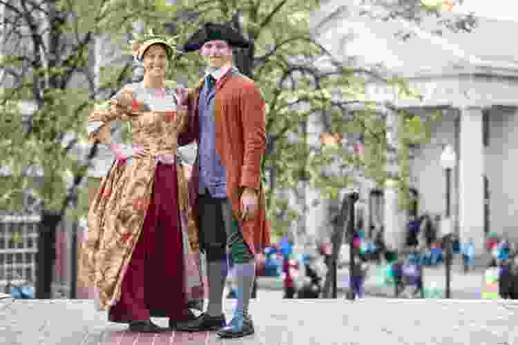 walk the freedom trail for a unique team building activity in boston