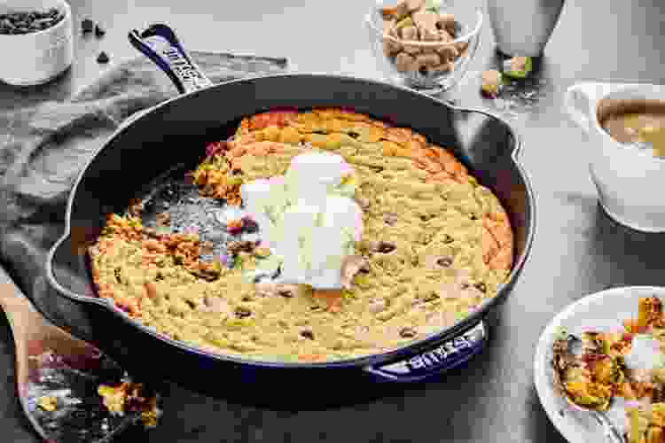 """the Staub Traditional 11"""" Skillet in black is one of the best cast iron pans"""