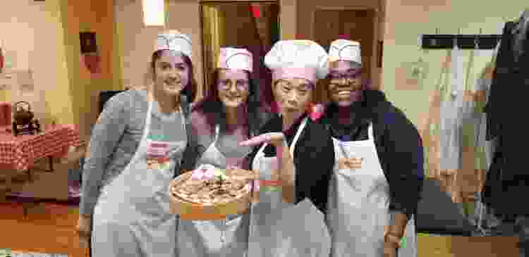 a cooking competition is a fun team building activity