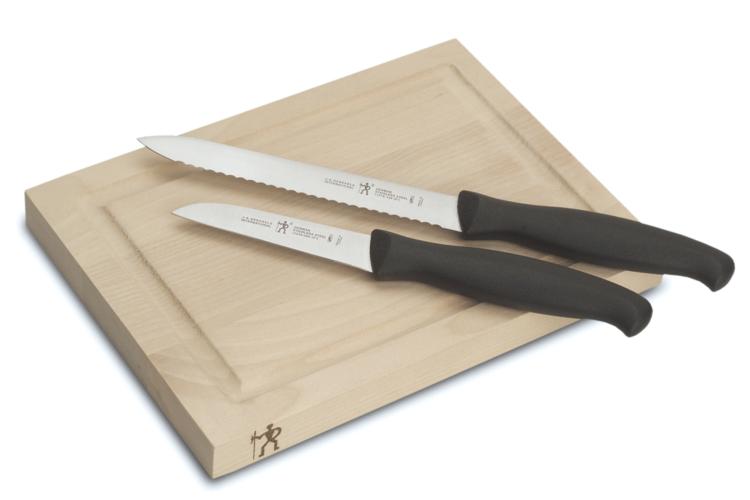 the Henckels 3-Pc Bar Board Set is a useful housewarming gift
