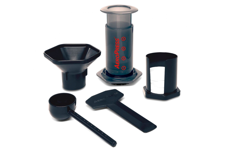 an AeroPress Coffee Maker is a useful work from home gift