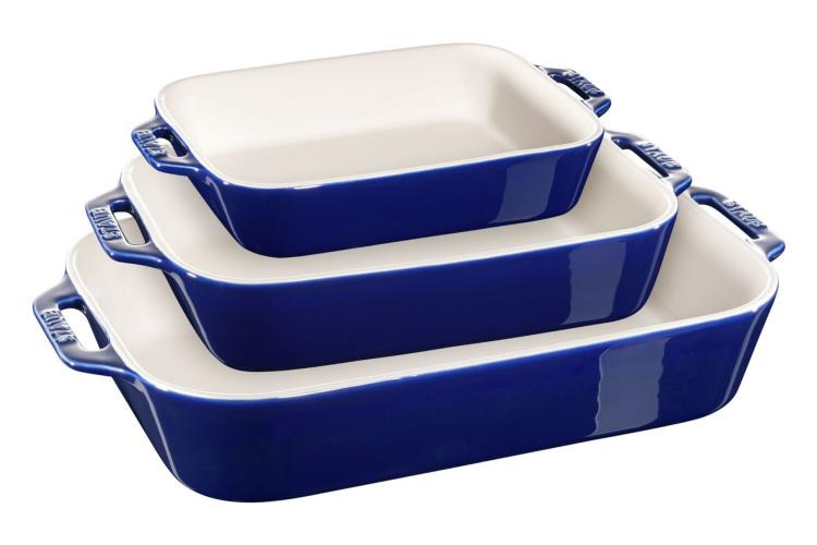 Staub 3-Pc Rectangular Baking Dish Set