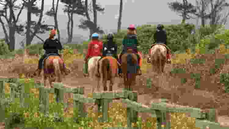 Horseback riding makes for a unique Mother's Day activity