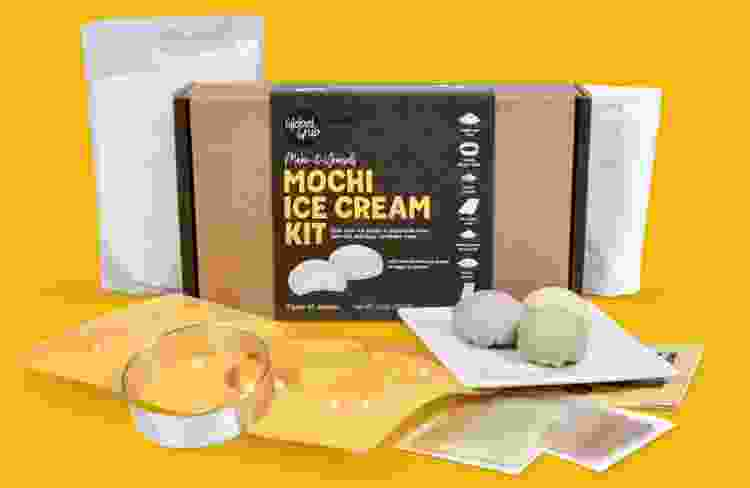 a mochi ice cream making kit is a fun last minute christmas gift