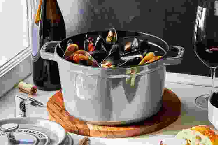 the Staub Tall Cocotte 5 Qt is one of the best dutch ovens for bread baking