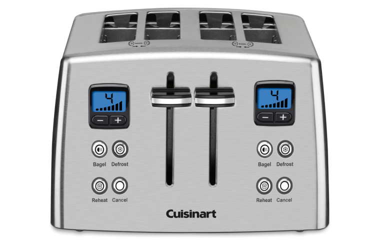 the Cuisinart 4-Slice Compact Toaster is a useful housewarming gift