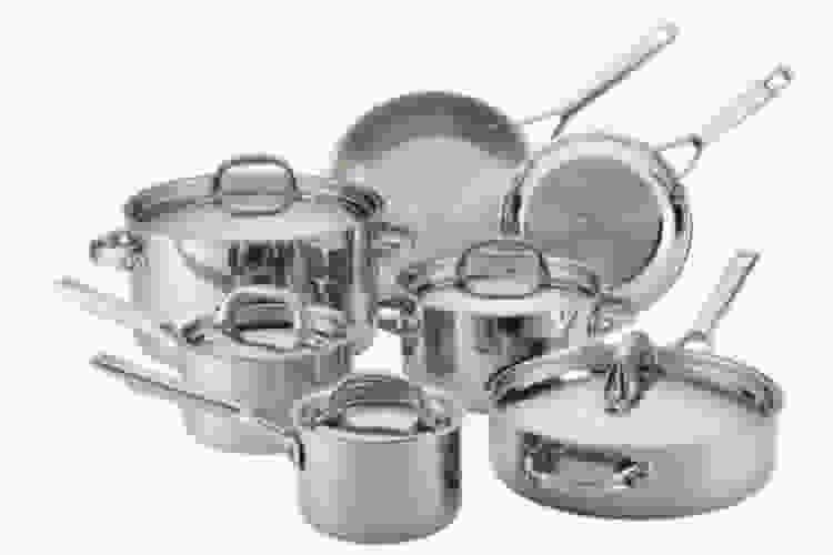 the Anolon Tri-Ply Clad 12-Piece Cookware Set is a great kitchen gift