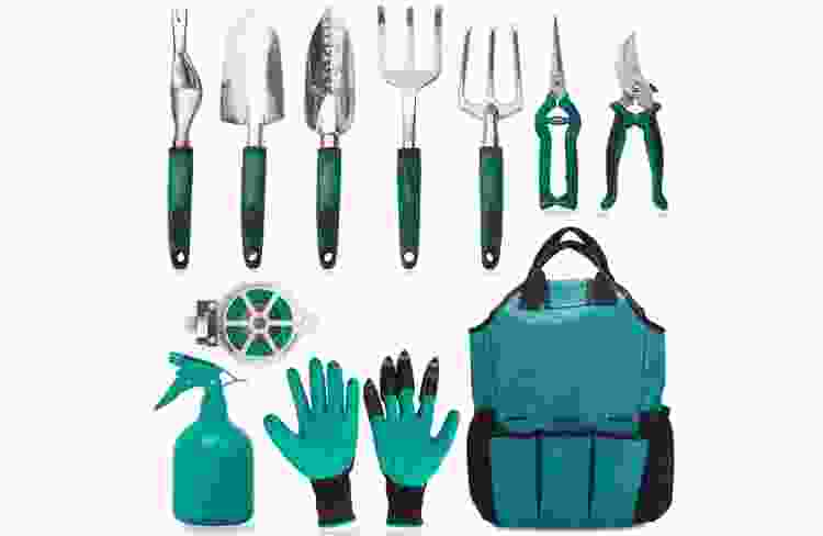 gardening set with tools