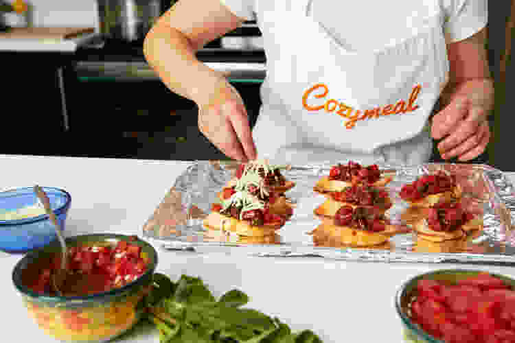 a cooking class is a fun team building activity in austin