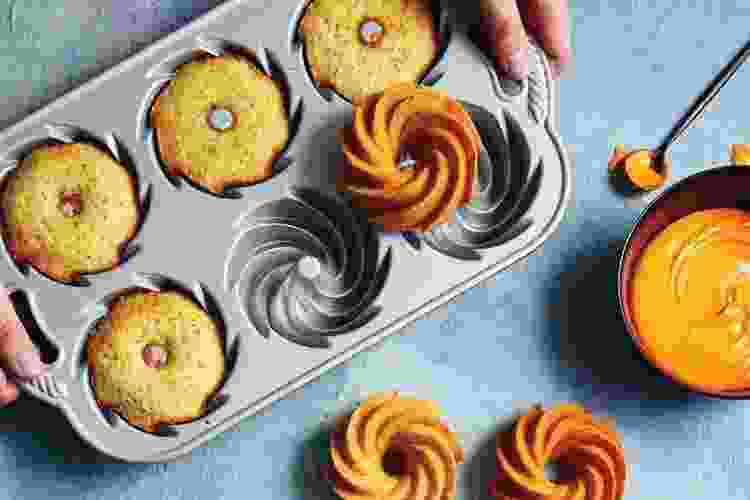 the Nordic Ware Heritage Bundtlette Pan is one of the best muffin pans