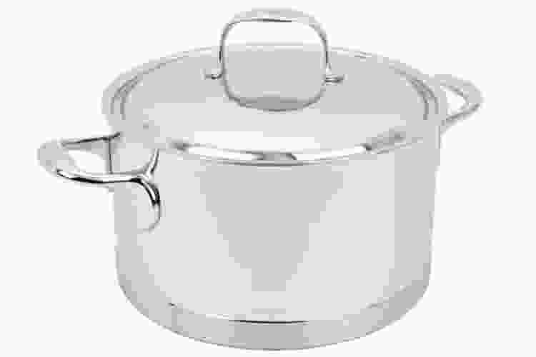 Demeyere Stainless Steel 5.5-Qt Sauce Pot
