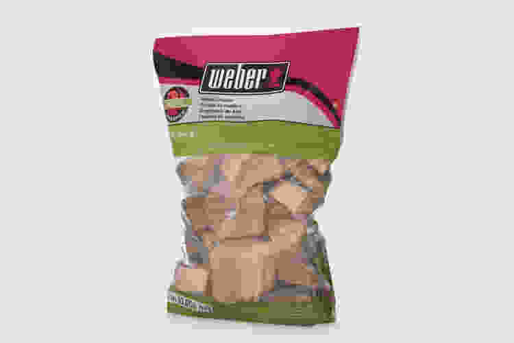 Weber Apple Wood Chunks are some of the best grilling gifts