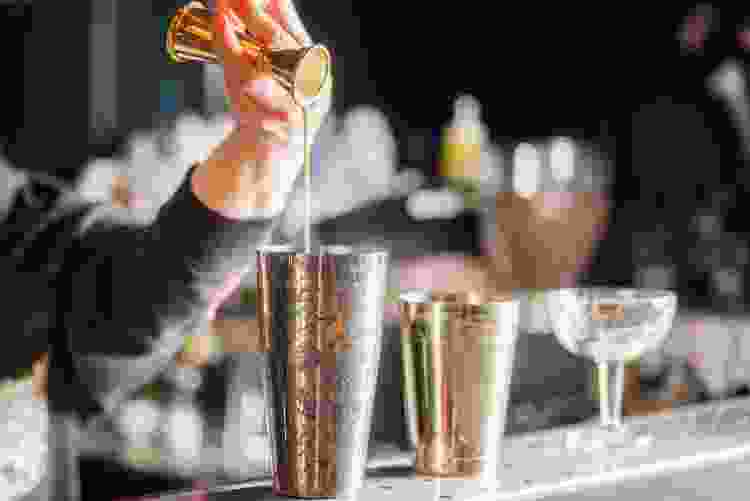 online mixology classes are a fun virtual birthday party idea