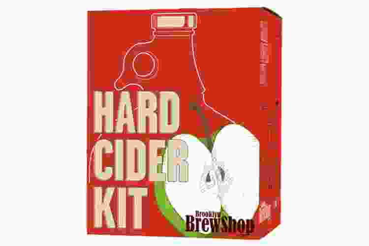 the Brooklyn Brew Shop Hard Cider Kit is one of the best hostess gifts