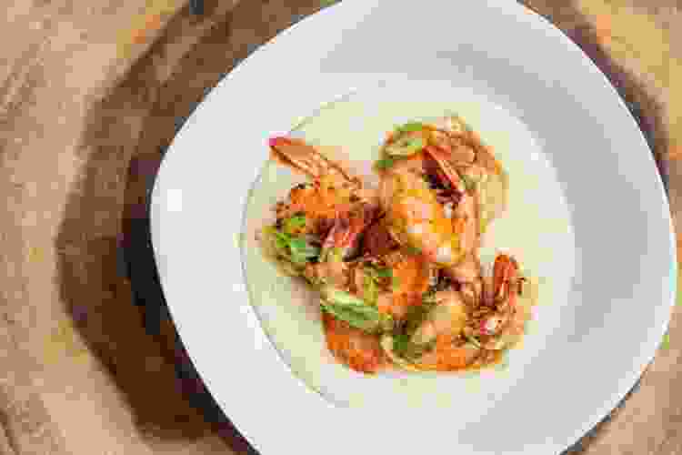 shrimp and grits is a cozy and filling comfort food