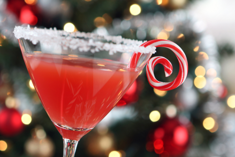 online mixology classes are a great holiday work party idea