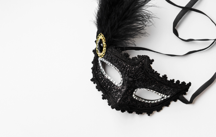 a mask for a masquerade ball
