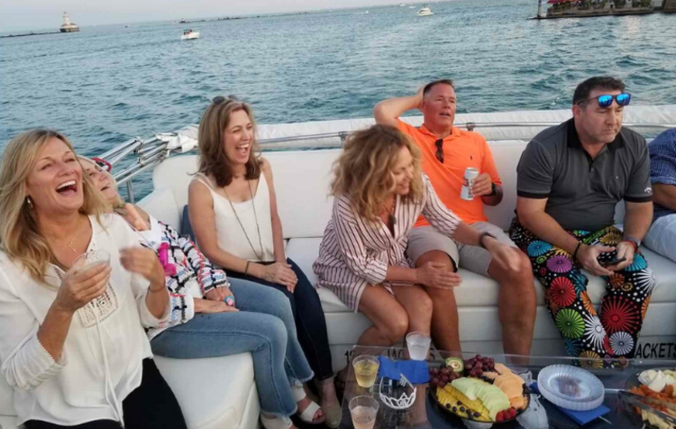 hop aboard a booze cruise for a fun birthday idea