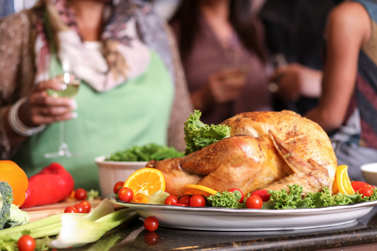 questions and answers about cooking Thanksgiving dinner