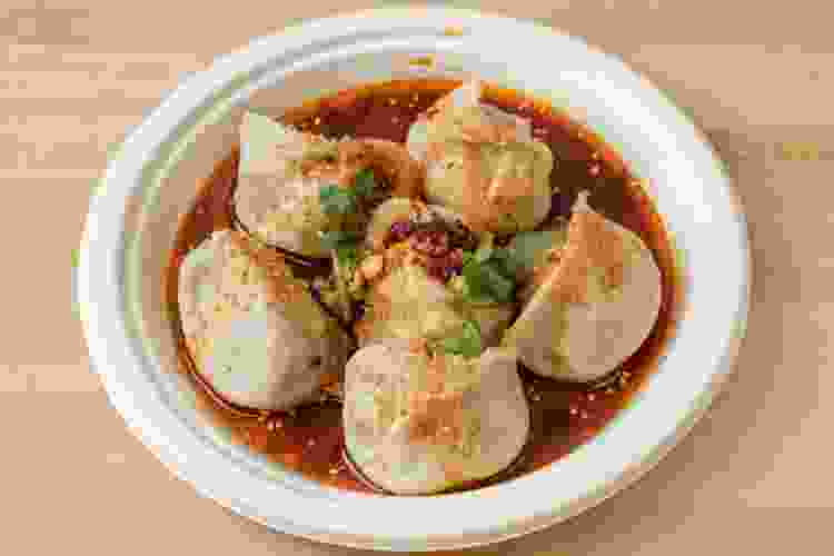 Xi'an Famous Foods serves some of the best dumplings in nyc