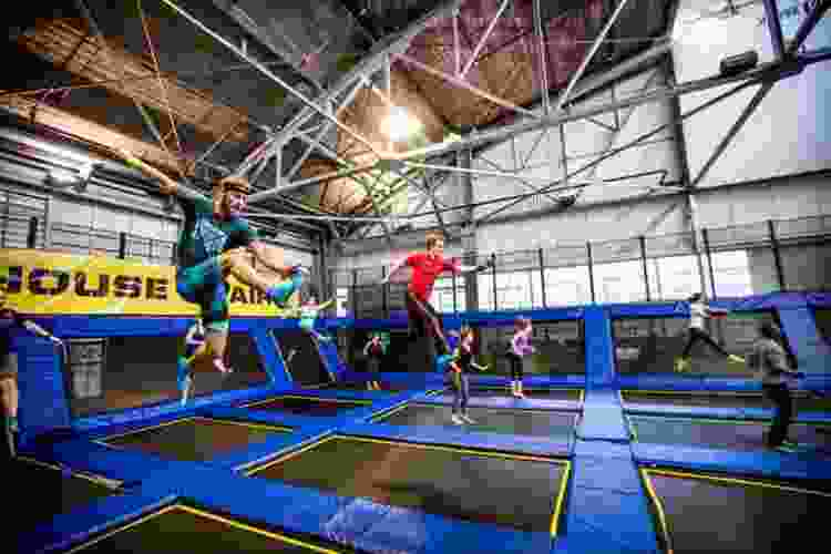a day at a trampoline park is a fun team building activity in san francisco