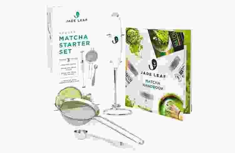 a matcha starter kit is a fun thank you gift