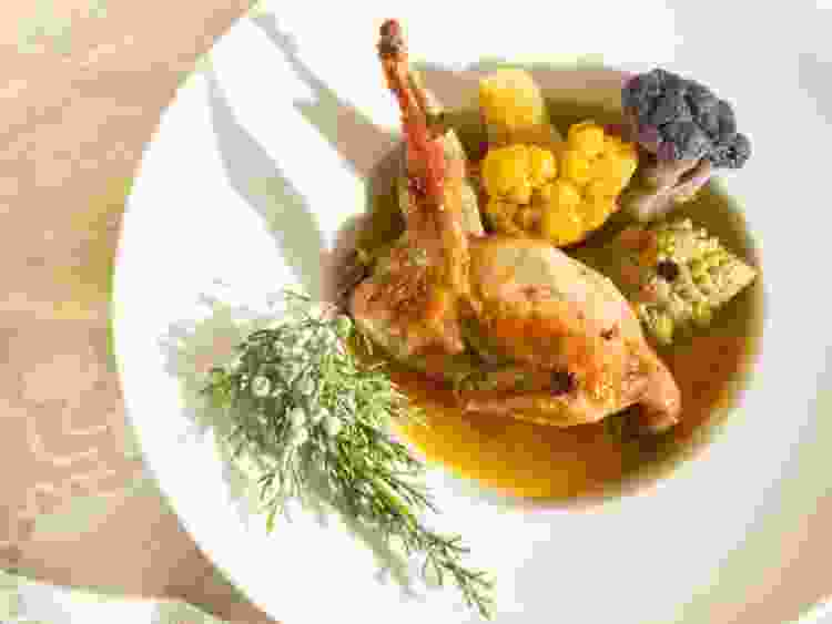 learn how to make quail in broth when you learn how to become an italian chef