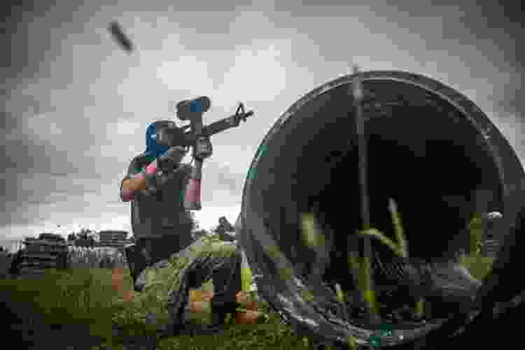 paintball is a fun experience gift idea