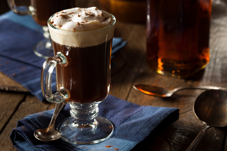 irish coffee is one of the best san francisco foods
