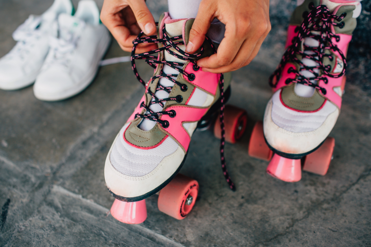 an ice skating or roller skating date is a unique valentine's day gift