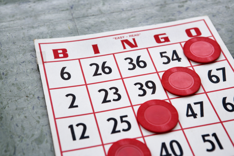 playing bingo is one of the most fun virtual team building activities