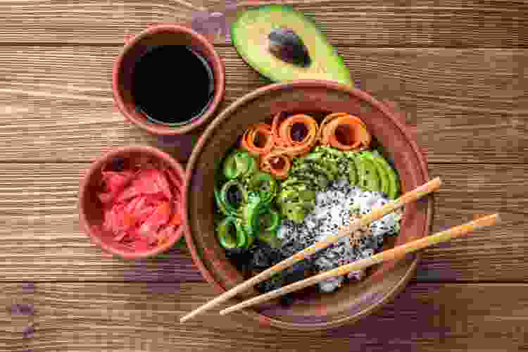 sushi bowl is a great one bowl meal