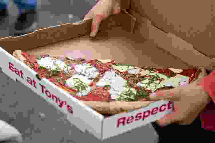 box of new york style pizza