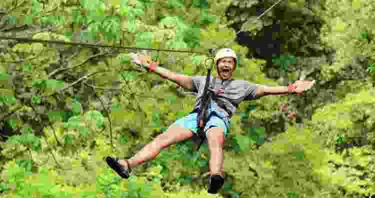 Go ziplining for an amazing Father's Day adventure