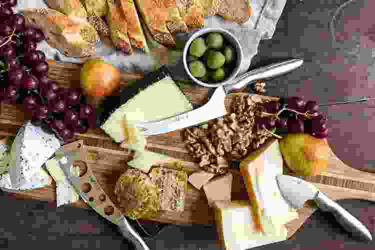 a cheese knife set is one of the most useful gifts for foodies
